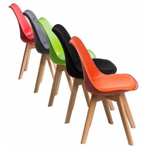 D2.design Krzesło norden cross pp czarne - czarny (5902385729291)