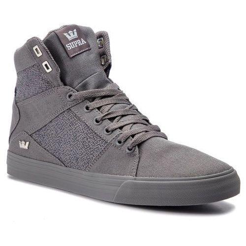Sneakersy - aluminum 05662-020-m grey/grey, Supra, 40-46