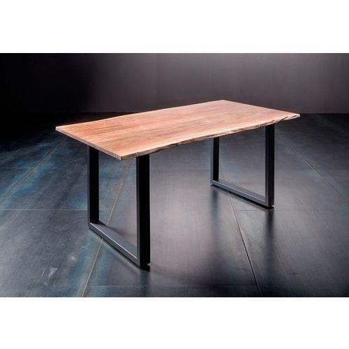 Stół catania obrzeża ciosane natur, 220x100 cm grubość 5,5 cm marki Fato luxmeble