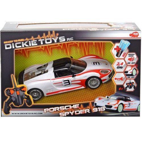 DICKIE Samochód RC Porsche Spyder RTR, 201119075