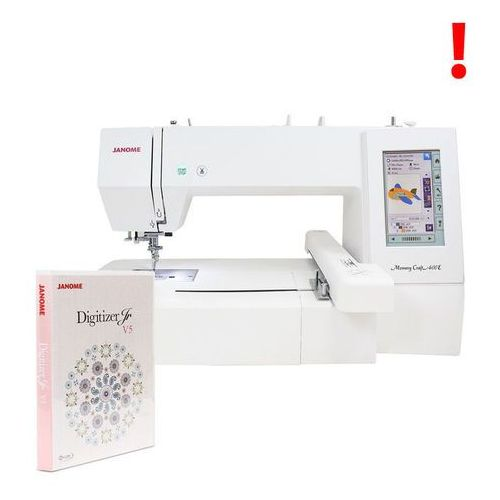 Hafciarka Janome MC400E + program Digitizer JR 5.0 za 1099 zł GRATIS