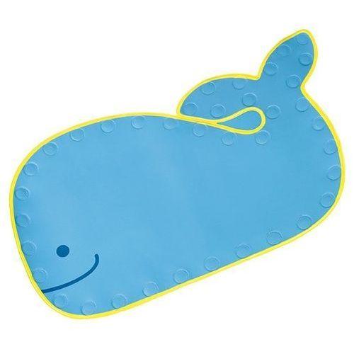 Błękitna mata do wanny wieloryb  marki Skip hop