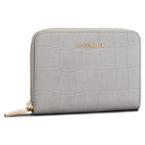 Coccinelle Duży portfel damski - cw7 metallic mat croco e2 cw7 11 02 01 dark iris y00