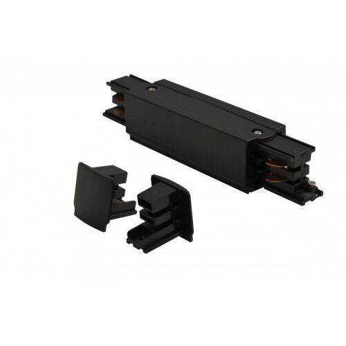 Azzardo Zasilanie środkowe i zaślepka do szyny montażowej line power + 2x end cap az2977 (5901238429777)