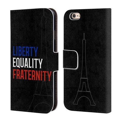 Etui portfel na telefon - Je Suis Paris Humanistic Values