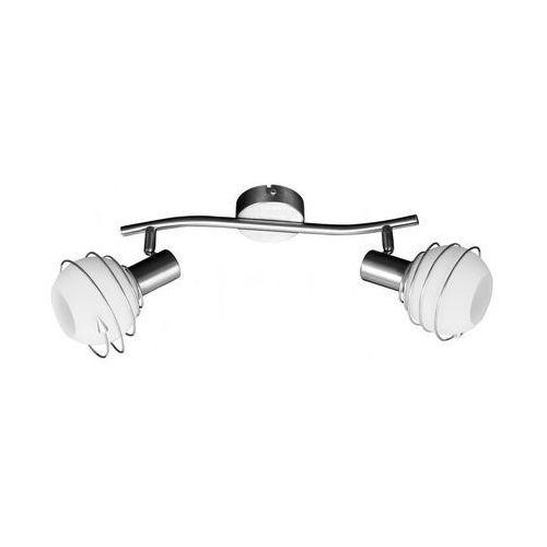 Listwa lampa oprawa sufitowa Spot Light Daria 2x40W E14 biały\satyna 2093227 (5900805048250)