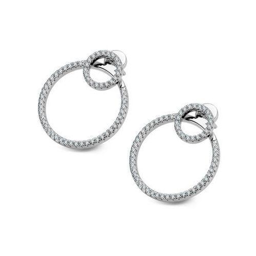 Scarlett - srebrne kolczyki z cyrkoniami marki Biżuteria yes