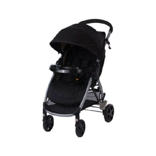 wózek spacerowy step & go full black marki Safety 1st