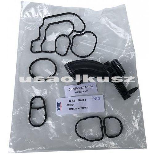 Uszczelki obudowy filtra oraz chłodnicy oleju jeep wrangler jk 2,8 crd 31212020f marki Vm