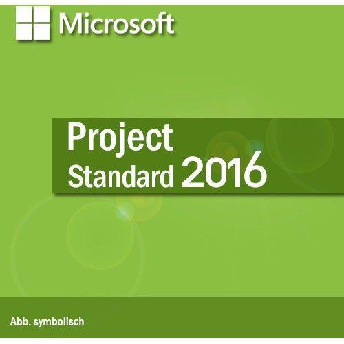 Microsoft Project Standard 2016 BOX