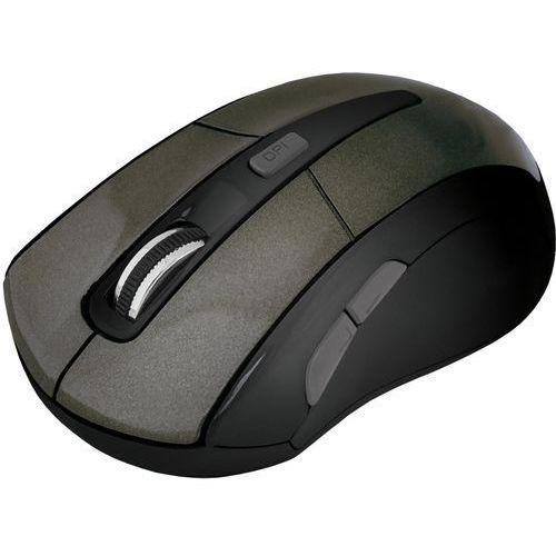 Defender Mysz bezprzewodowa accura mm-965 optyczna 1600dpi 6p grafitowa