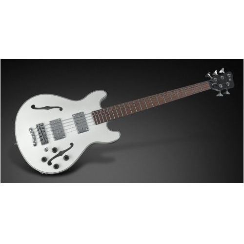 star bass 5-str. solid creme white high polish, fretted - long scale gitara basowa marki Rockbass