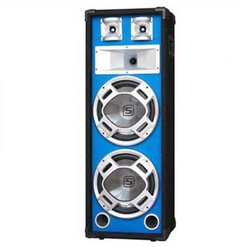 Pa kolumna estradowa głośnik niebieski efekt świetlny 20 cm marki Skytec