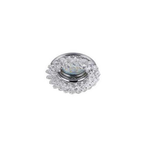 dolomite 651700152 oczko halogenowe spot 1x10w gu10 chrom / transparentny marki Trio