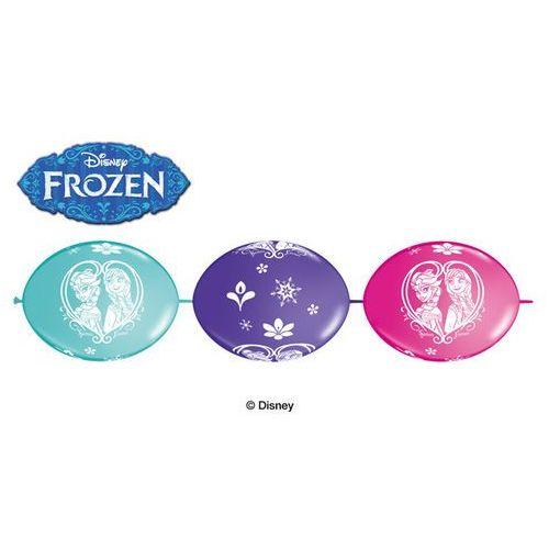 Girlanda balonowa Frozen - Kraina Lodu - 300 cm - 1 kpl.