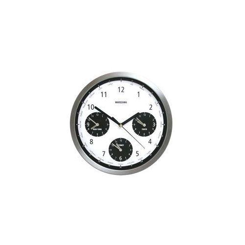 Atrix Zegar metalowy strefy czasowe