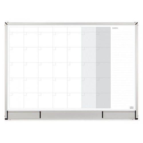 2x3 Planer miesięczny magnetyczny officeboard lakierowany 120x90cm