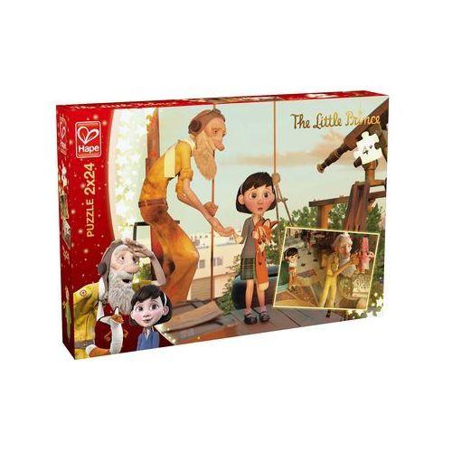 Mały książę puzzle 2x24 marki Hape