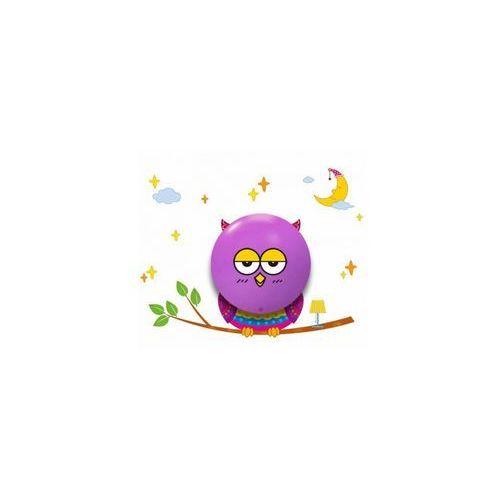 Milagro kinkiet/lampa ścienna led owl fioletowy 112