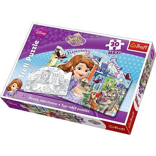 Puzzle 30 elementów Maxi Dwustronne. Jej wysokośc Zosia, AM_5900511144208