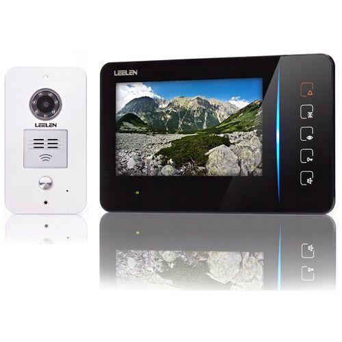 Wideodomofon Leelen 7cali N60/No15pc+ 3xbrelok (z czytnikiem)