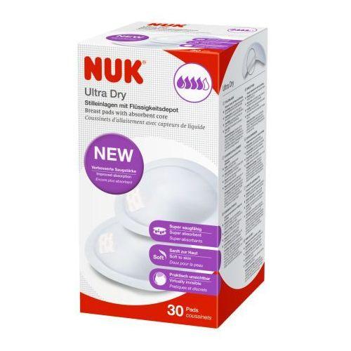 ultra dry zestaw wkładek laktacyjnych 30 + gratis drugie 30szt marki Nuk