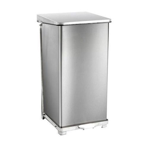 Vepa bins Przemysłowy pojemnik otwierany pedałem, stal szlachetna, poj. 90 l, wys. x szer.