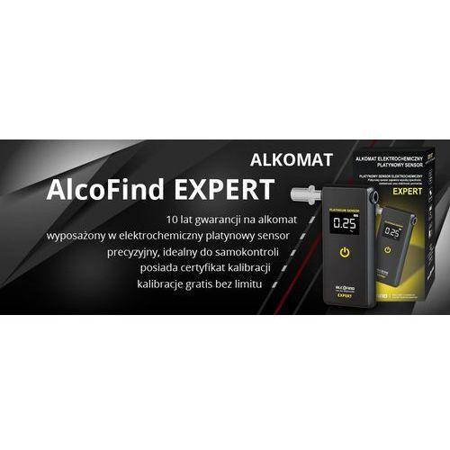 Alcofind Alkomat osobisty expert kalibracje! + prezent latarka (5906714485018)