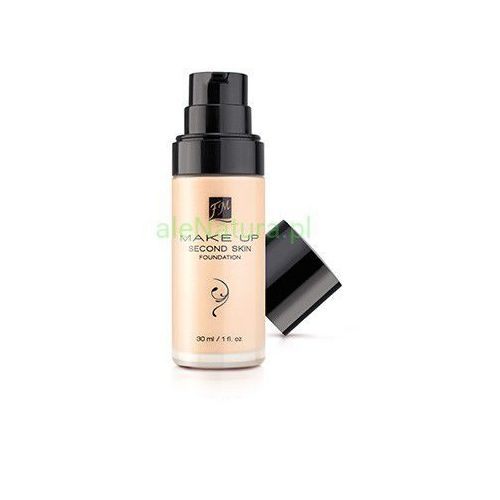 fm world podkład second skin foundation porcelain
