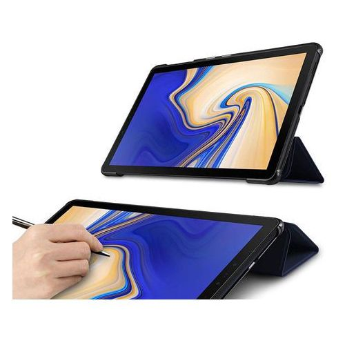 Etui Alogy Book Cover Samsung Galaxy Tab S4 10.5 T830/T835 Granatowe - Granatowy, kolor niebieski
