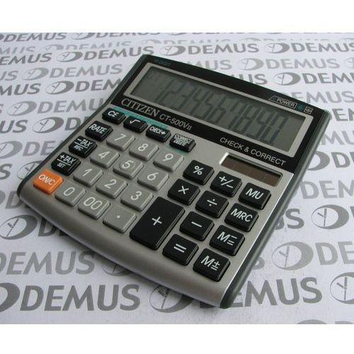 Kalkulator citizen ct-500vii marki Apollo electronics sp. z o.o.. Najniższe ceny, najlepsze promocje w sklepach, opinie.