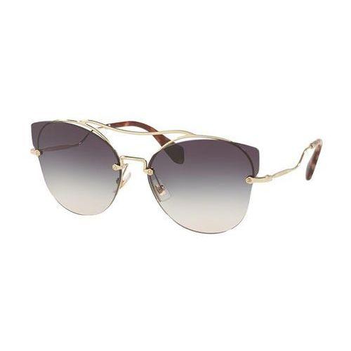 Okulary słoneczne mu52ss zvngr0 marki Miu miu