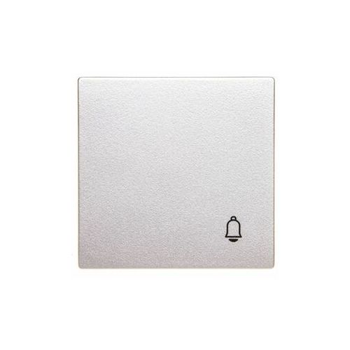 "Merten System M Klawisz pojedynczy z symbolem ""Dzwonek"" aluminium MTN439860, 0001-00000-54844 (4352539)"