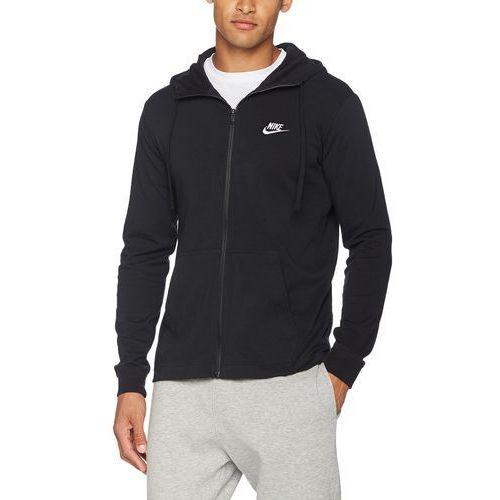 Nike bluza sportowa M NSW FZ JSY Club,, czarny, l
