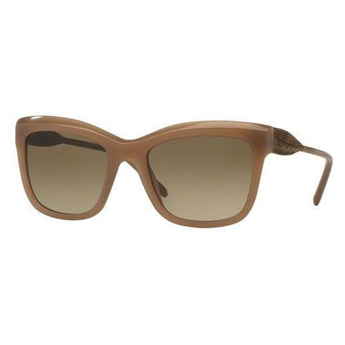 Okulary Słoneczne Burberry BE4207F Gabardine Lace Asian Fit 357213, kolor żółty