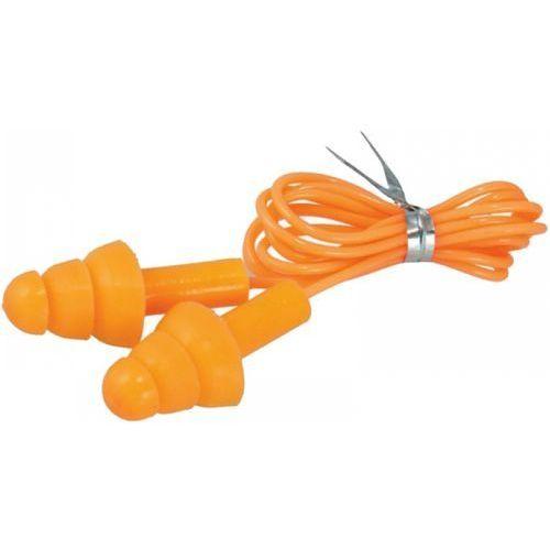 Dedra Zatyczki do uszu silikonowe ze sznurkiem bh1033 (5902628210746)