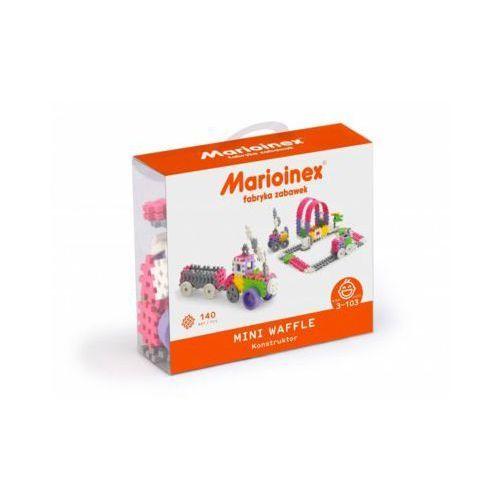 Marioinex Klocki waffle mini 140 sztuk dziewczynka - DARMOWA DOSTAWA OD 199 ZŁ!!!