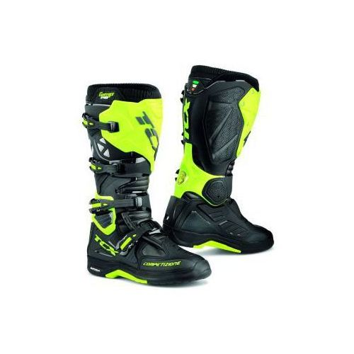 BUTY TCX COMP EVO 2 MICHELIN BLACK/YELL FLUO, kolor czarny