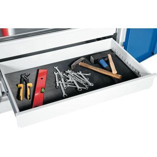 C+p möbelsysteme Mata antypoślizgowa, do szafy o dużej pojemności, do szaf o głęb. 500 / 600 mm.