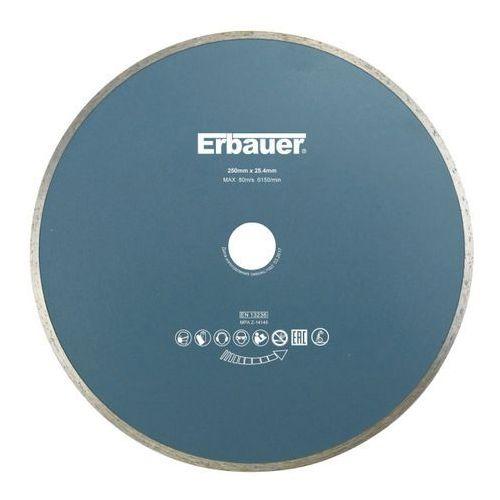 Tarcza diamentowa ciągła 250 x 25,4 mm marki Erbauer
