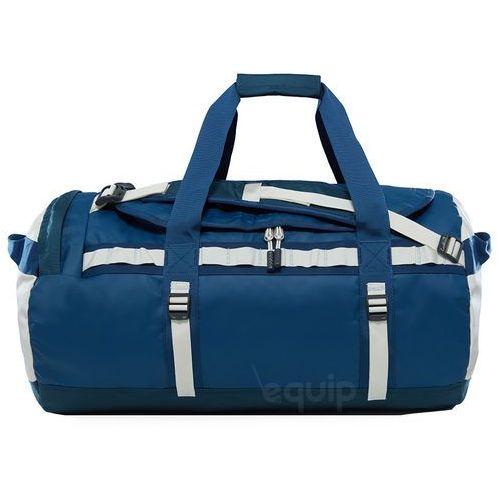 Torba podróżna base camp duffel m ne - blue wing teal / vintage white marki The north face