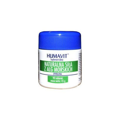 Varia Humavit spirulina naturalna siła z alg morskich x 90 tabletek