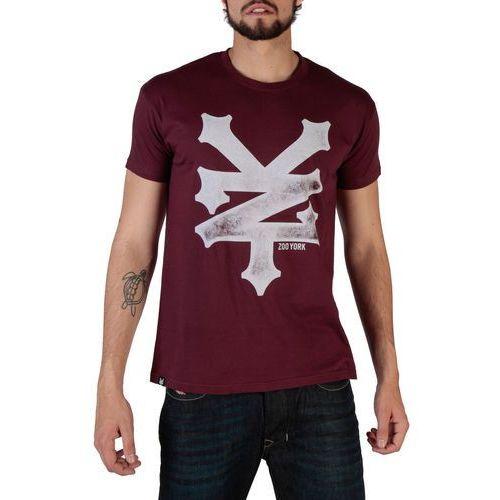 T-shirt koszulka męska ZOO YORK - RYMTS140-02, RYMTS140_BUR-XXL