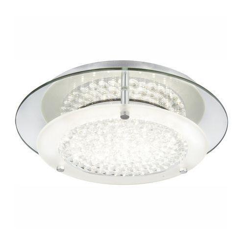 Plafon lampa oprawa sufitowa Globo Froo I 1x12W LED chrom/przeźroczysty 49299-12, 49299-12