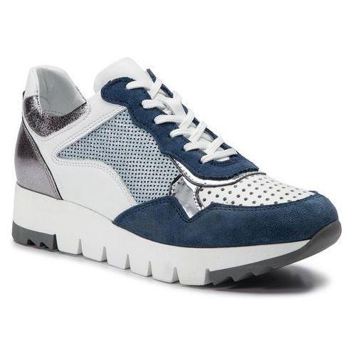 Simen Sneakersy - 1553a niebieski/biały