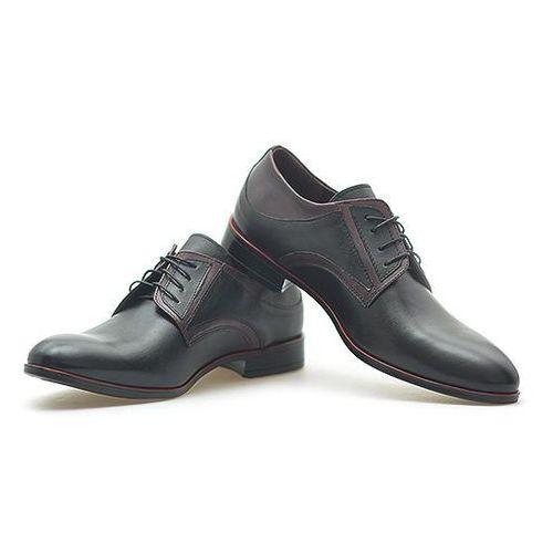 Duo men Pantofle męskie 557/a czarne