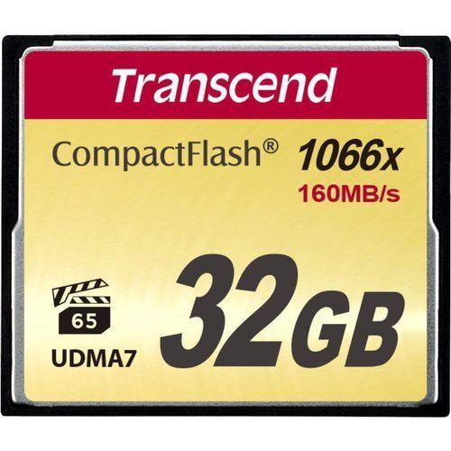 Karta pamięci cf  ts32gcf1000, 32 gb, 160 mb/s / 120 mb/s marki Transcend