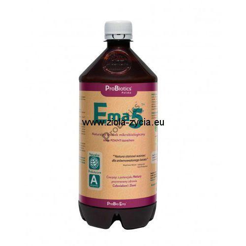 Ema5 1 litr - to specjalnie przygotowana kompozycja mikroorganizmów na bazie - ProBiotics, EA18-424E2