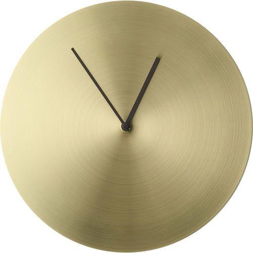 Menu Zegar ścienny norm metal szczotkowany mosiądz