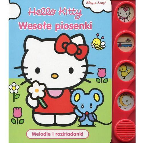 Hello Kitty Wesołe piosenki Melodie i rozkładanki - Jeśli zamówisz do 14:00, wyślemy tego samego dnia. Darmowa dostawa, już od 99,99 zł., oprawa kartonowa. Najniższe ceny, najlepsze promocje w sklepach, opinie.